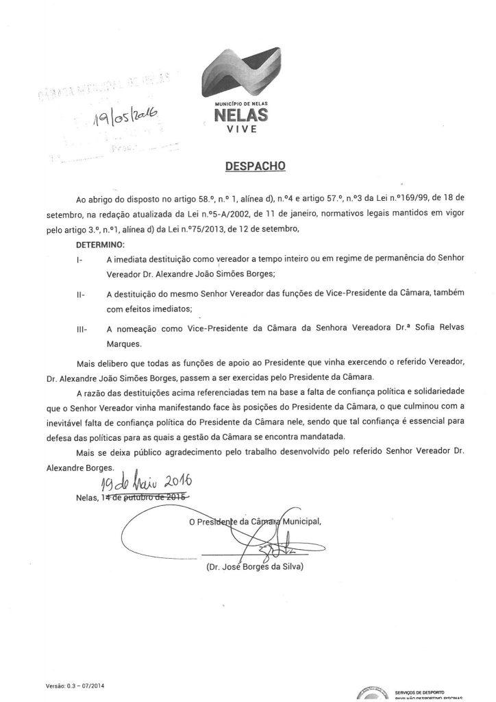 Despacho_Nelas