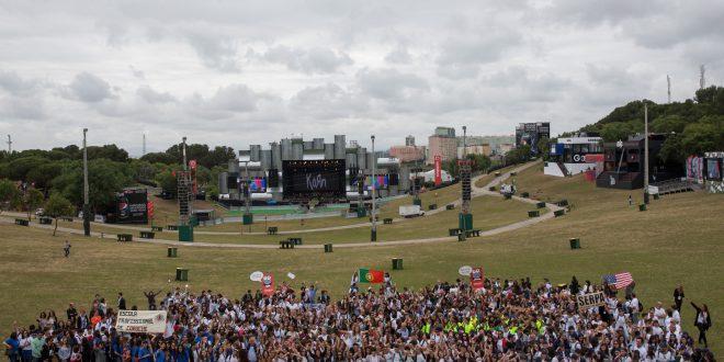 Rock in Rio - Lisboa 2016: Entrega de premios Escola Electrao na Cidade do Rock no Parque da Belavista em Lisboa, Portugal a 27 de Maio de 2016. Foto: AgenciaZero.net