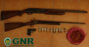Tabuaço: Detido por posse ilegal de armas e material explosivo