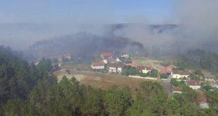 Viseu continua a ser um dos distritos mais fustigados pelos incêndios florestais