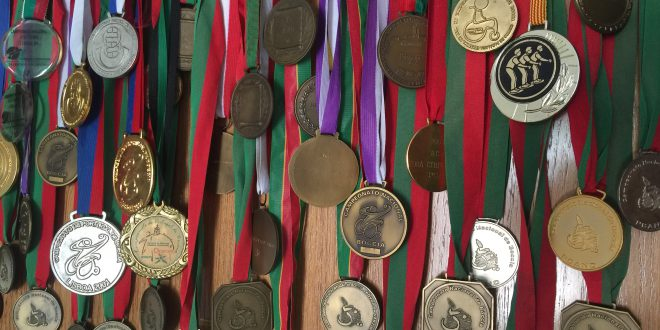 Imagem de AliveFm: Algumas das Medalhas de Fernando Ferreira