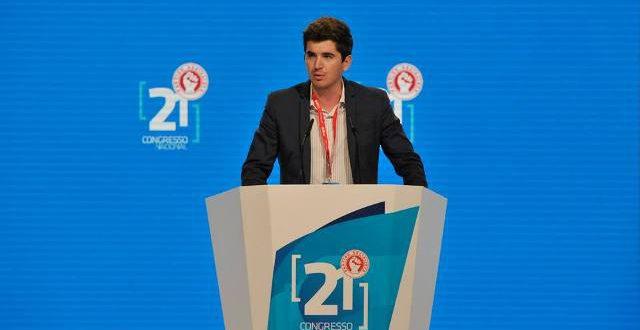 Luis Soares - Presidente da Federacao Distrital de Viseu da JS