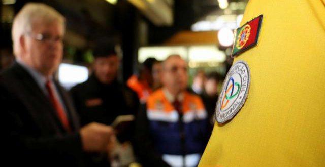 Fotografia: Protecção Civil
