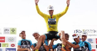 Vencedor da Volta a Portugal em Bicicleta solidário com instituição de Viseu