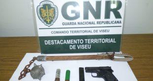 Homem com antecedências criminais detido em Oliveira de Frades