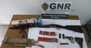 Castro Daire: Detido por posse ilegal de armas