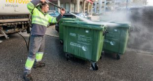 Caixotes do Lixo de Viseu são alvo de limpeza