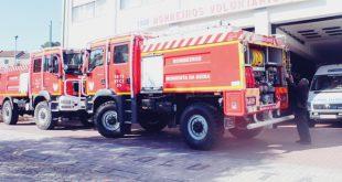 Moimenta da Beira: Bombeiros Voluntários com duas novas viaturas de combate a incêndios