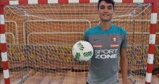 Futsal: André Coelho homenageado pelo clube (ABC de Nelas) onde deu os primeiros passos