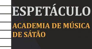 Audição dos alunos da Academia de Música de Sátão este domingo