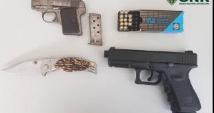 Homem de 50 anos foi detido por posse ilegal de armas