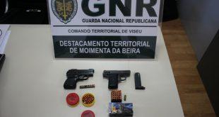 GNR Viseu: Idoso detido por posse ilegal de arma
