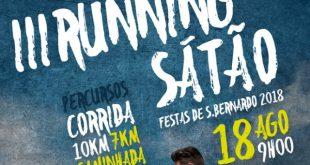 Prémios: III Running festas de São Bernardo em Sátão