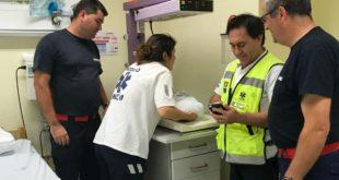 Bebé nasce em ambulância dos Bombeiros de Mangualde