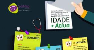 """Município de Sátão apresenta o """"Projeto Idade + Ativa"""" para os seniores"""