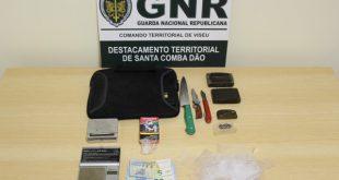 GNR: Detido jovem por posse 250 doses de droga
