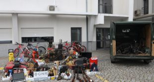 Viseu: 3 detidos por furto em estabelecimentos e veículos