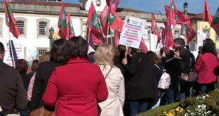 Trabalhadores do Centro de Apoio a Deficientes de Santo Estevão de Viseu em greve