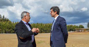 Viseu: Secretário de Estado da Juventude e do Desporto visitou obras da Academia de Futebol Distrital