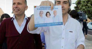 Nuno Melo candidato do CDS PP visitou feira semanal de Viseu