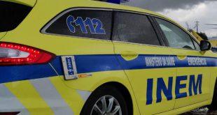 Colisão entre duas viaturas provocou um ferido grave em Viseu
