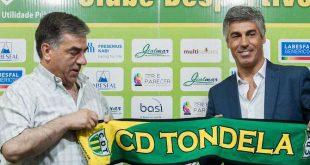 """Presidente do CD do Tondela quer dar """"pontapé"""" de saída para a construção de um centro de estágio"""