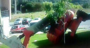 Viseu: queda de grua provocou ferimentos graves a dois homens