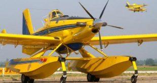 Dois aviões de combate a incêndios deslocados de Vila Real para Viseu