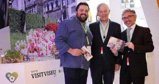 Câmara de Viseu recebe Embaixador Chef Diogo Rocha, distinguido com uma Estrela Michelin