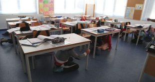 """""""A Terra Treme"""", simulacro/exercício no Centro Escolar de Moimenta da Beira"""