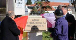 Nome de Avenida para homenagear ex-trabalhadores das Minas da Urgeiriça