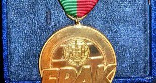 Salvador Trindade foi distinguido pela FPAK