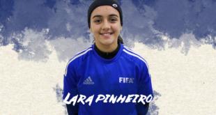 Mangualde: Lara Pinheiro convocada para Estágio da Seleção Nacional sub-16 de Futebol Feminino