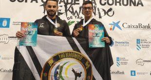 Atletas do Taekwondo Clube do Dão, conquistaram medalhas de prata e bronze na Corunha