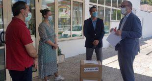Fundação EDP entrega máscaras à misericordiosa de Cinfães