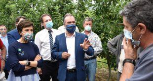 Maria do Céu Albuquerque – Ministra da Agricultura esteve em Moimenta da Beira e prometeu medidas imediatas para combater prejuízos de intempéries