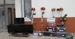 GNR detém homem e recupera material furtado em Oliveira de Frades e Vouzela
