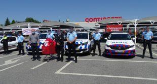 Continente de Viseu homenageou PSP e forças da Proteção Civil