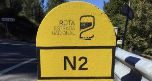 Estrada Nacional 2 em Castro Daire reaberta após encerramento em 2019