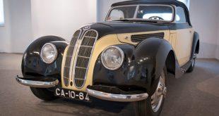 O BMW 327 Cabriolet  é o primeiro exemplar da marca alemã a integrar a colecção do Museu do Caramulo