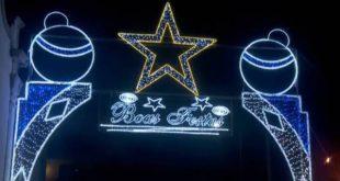 Sátão. Mensagem do presidente da Câmara e inauguração da iluminação de natal