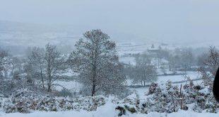 Neve. Serra de Montemuro em Resende