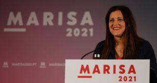 Marisa disse em Viseu que, a grande lição aos insultos da extrema-direita será no dia das eleições
