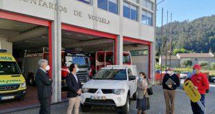 Bombeiros de Vouzela receberam da E-REDES uma viatura de apoio à defesa da floresta